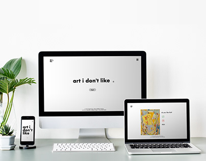 art i don't like - Web UI/UX