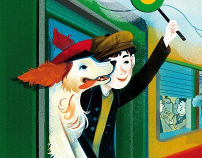 Il Battello a Vapore Lampo - cane ferroviere