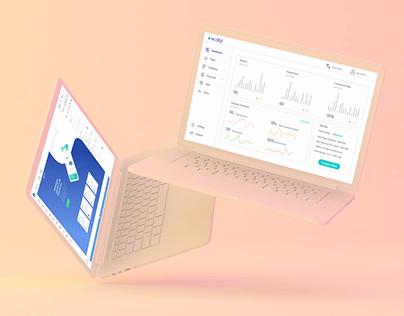 Landing Page Builder Platform - UI/UX Design