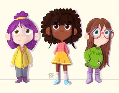 Personajes - Escolares