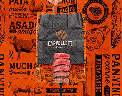 Branding / Identidad Cappelletti Carnes