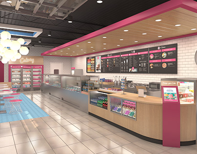 Baskin Robbins: Store Visualization
