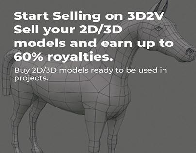 3d2v sell 3d model