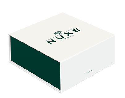NUXE - PACKAGING PROMOTIONNEL ET INSTITUTIONNEL
