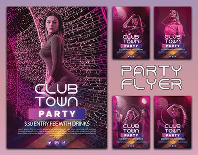 Party Flyer-folio