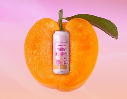SHELTON Milkshake IPA sûre aux abricots - campagne