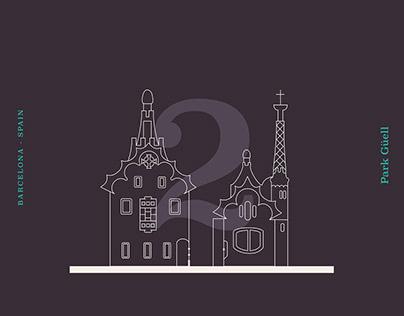Barcelona - Icon Set