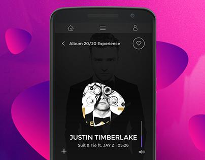 Spotify Redesign | Mobile & Desktop