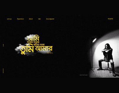 Nogor Baul James web UI Design