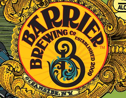 Barrier Brewing Co. Bottle Labels