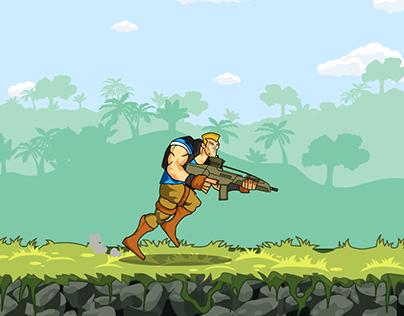 Run n Gun Animation