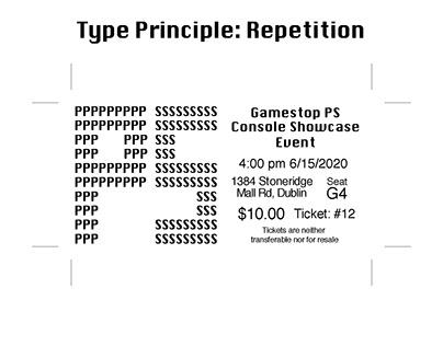 Typography Principle Cards