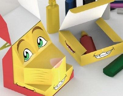 Kit Promocional Acrilex de Material Infantil