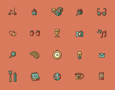 Há dias... There are days like this - Free icon set