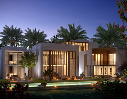 3D Luxury Villa - Morocco