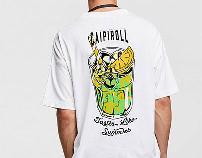 Caipiroll Branding
