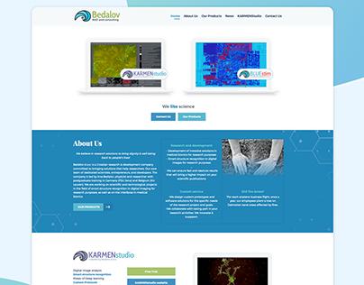Bedalov d.o.o. - web design and development