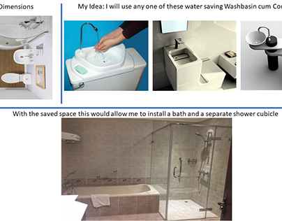 bath and a separate shower cubicle possible