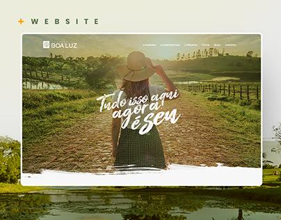 Boa Luz | Website
