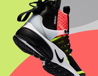 Nike x ACRNM Presto