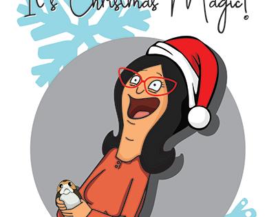 """""""It's Christmas Magic"""" 2017 Christmas card"""