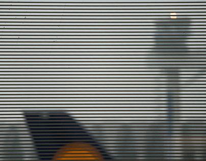 Lufthansa lounge, Frankfurt airport
