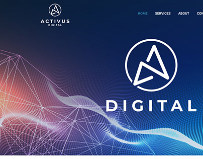 Web design for Digital Marketing Business
