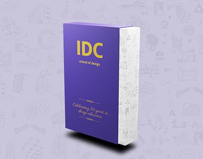 Design History of disruptions: Souveneir design for IDC