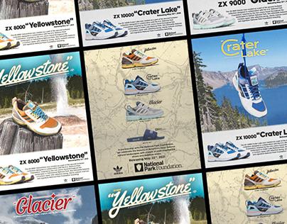 Adidas X National Park Foundation AD campaign