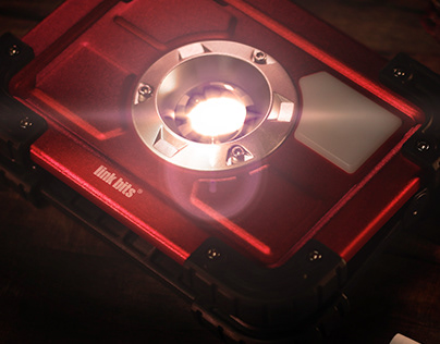 Reddish-a Portable Light Power Bank Red