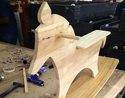 Wood bending- Rocking horse
