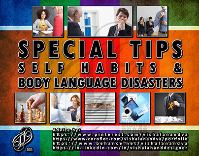 SPECIAL TIPS-SELF HABIT & BODY LANGUAGE DISASTER