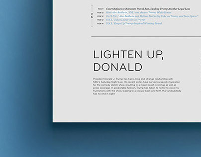 Infographic: Lighten Up, Donald