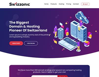 Hosting Company Website Design