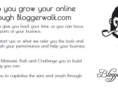 Blogger Walk