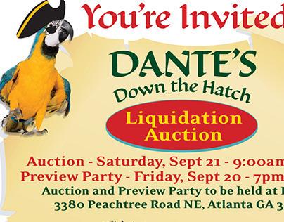 Dante's Auction Campaign
