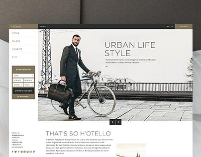 H'Otello - Branding & Webdesign
