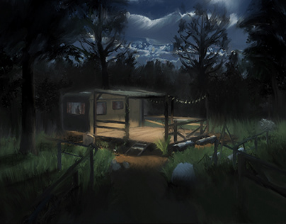 TM - Cabine in the wood