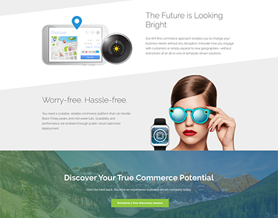 Business Landing Page Design