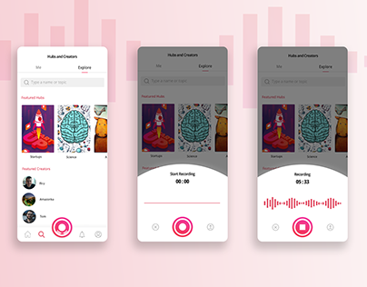 Voicehub Mobile App