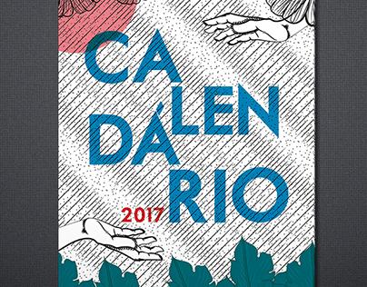 Calendário 2017 - Ilustrações