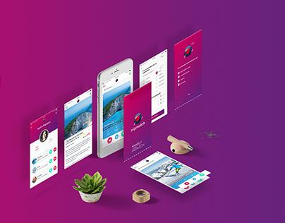 Tripmatch app UI/UX