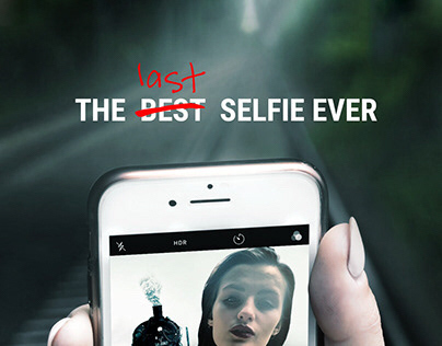 SOCIAL CAMPAIGN/ The last selfie ever