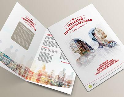 Sofigate - Tietoyhteiskunnan Tekijät Brochure & Banners