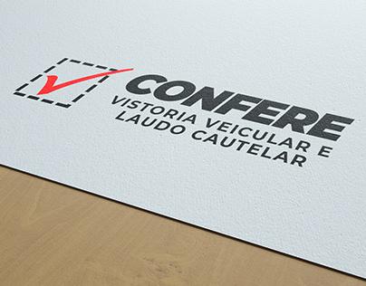 Comunicação visual - Empresa Confere