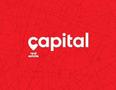 Capital Real Estate Logo Concept