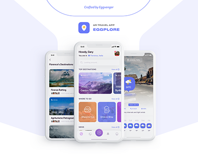 Eggplore - AR Travel App
