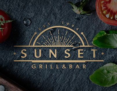 Sunset Restaurant | Branding