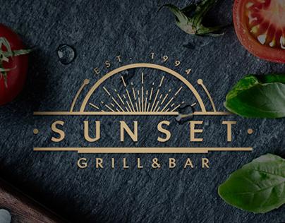 Sunset Restaurant   Branding