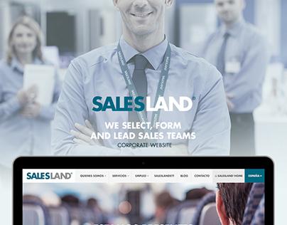 SALESLAND® Corporate Website Design